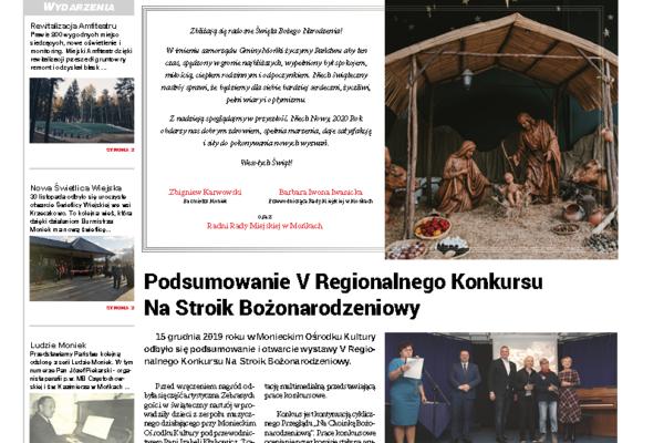 Okładka gazety Wieści Monieckie 5/2019 (62)