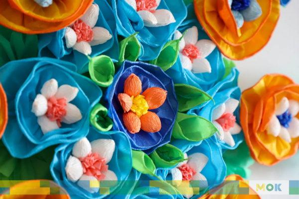Kolorowe kwiaty.