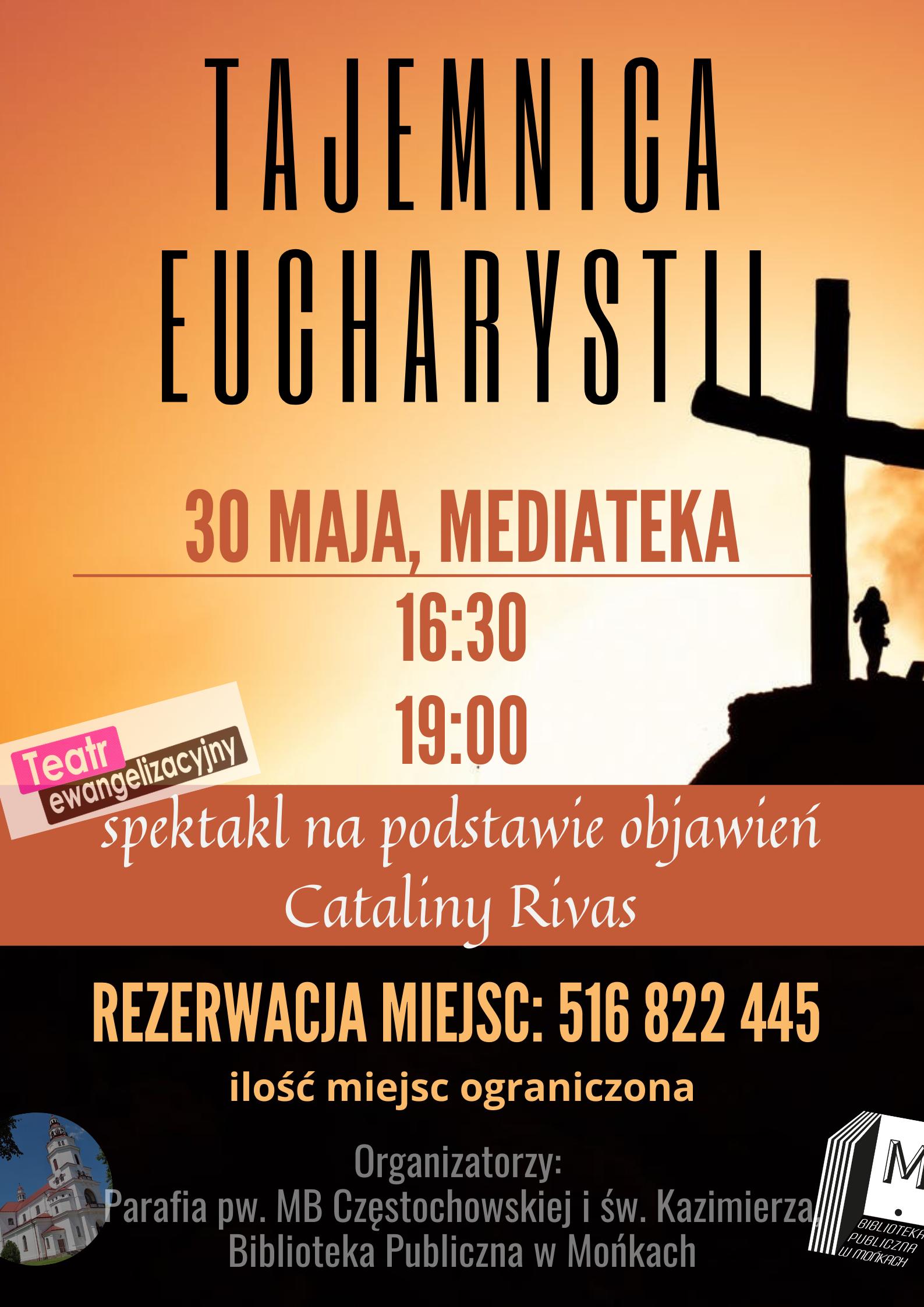 Plakat Tajemnica Eucharystii
